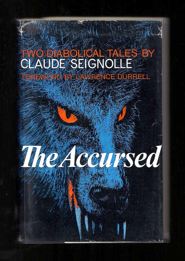 THE ACCURSED. Two Diabolical Tales. Proof. Lawrence Durrell, Claude Seignolle.
