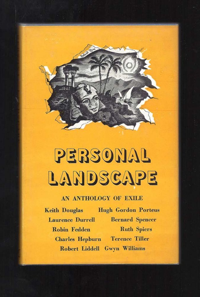 PERSONAL LANDSCAPE. An Anthology Of Exile. Lawrence Durrell, Robin Fedden, Edit.