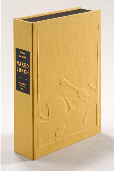 NAKED LUNCH. Collector's Clamshell Case Only. William S. Burroughs.