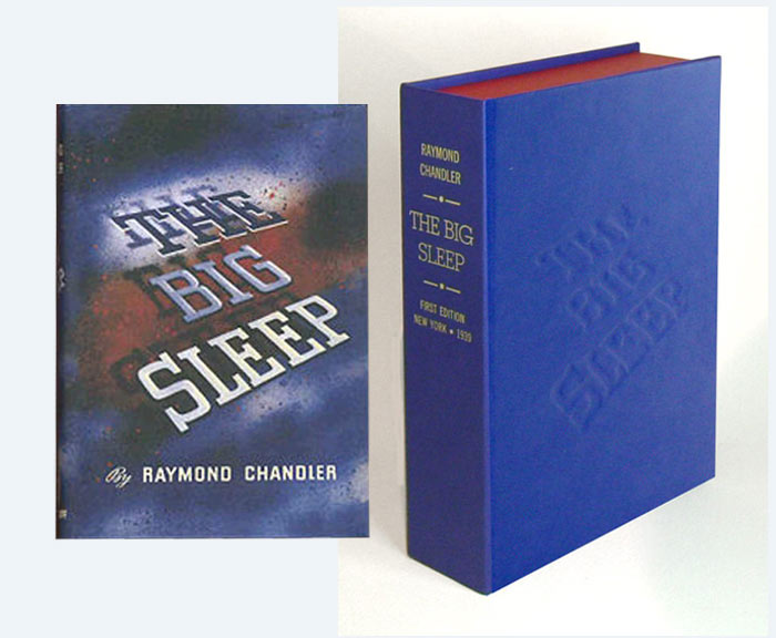 THE BIG SLEEP. Collector's Clamshell Case Only. Raymond Chandler