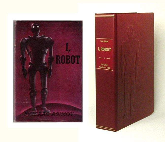 I ROBOT. Clamshell Case Only. Issac. Custom Clamshell Case Only Asimov.