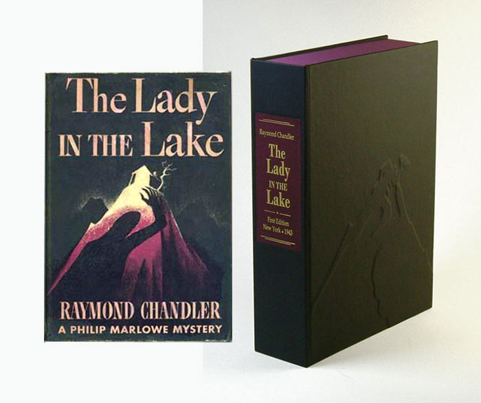 LADY AND THE LAKE. Collector's Clamshell Case Only. Raymond Chandler