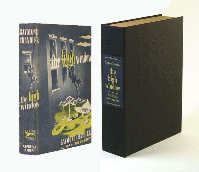 THE HIGH WINDOW. Collector's Clamshell Case Only. Raymond Chandler