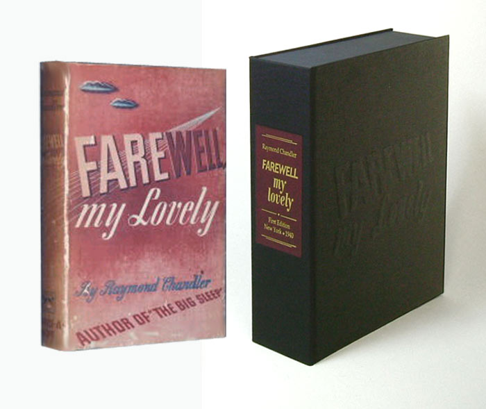 FAREWELL MY LOVELY. Collector's Clamshell Case Only. Raymond Chandler.