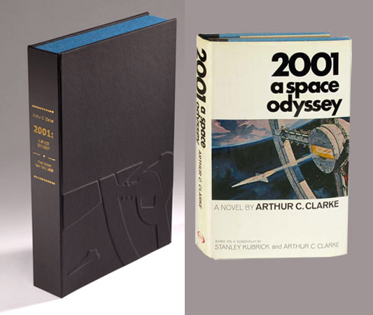 2001. A SPACE ODYSSEY. Collector's Clamshell Case Only. Arthur C. Clarke.