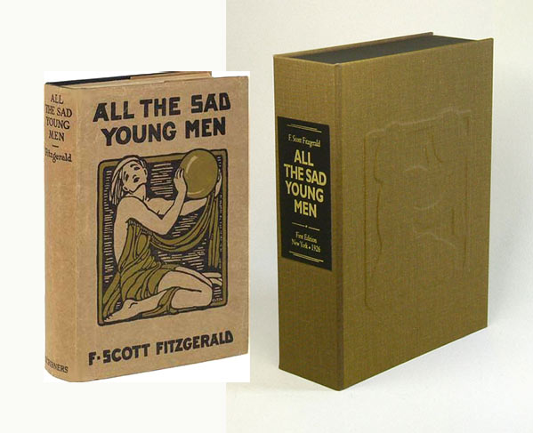 ALL THE SAD YOUNG MEN. Custom Clamshell Case. Fitzgerald F. Scott