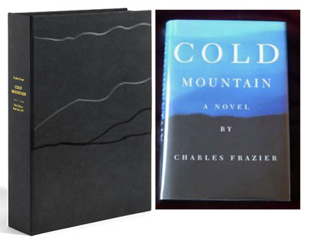 COLD MOUNTAIN. Custom Clamshell Case. Charles Frazier.