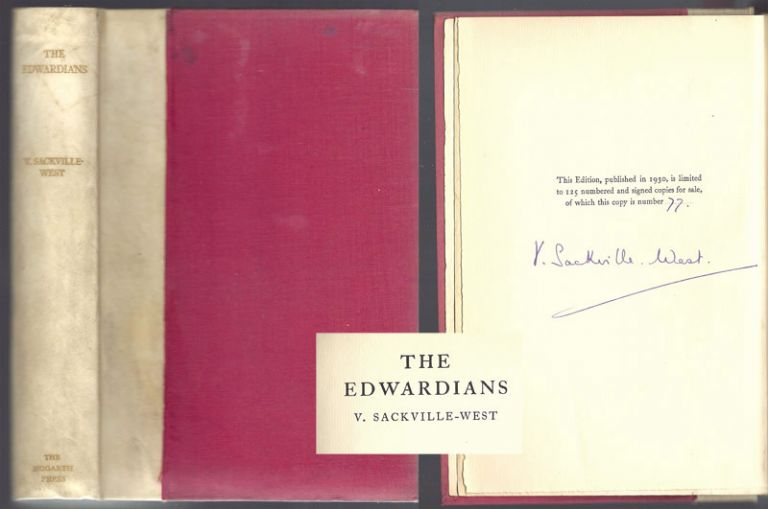 THE EDWARDIANS. Signed. Vita Sackville-West.
