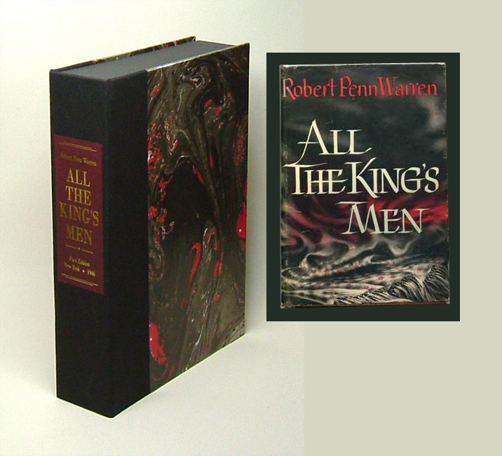 ALL THE KING'S MEN. Custom Clamshell Case. Robert Penn Warren