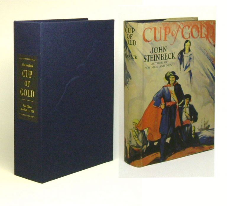 CUP OF GOLD. Custom Collector's 'Sculpted' Clamshell Case. John Steinbeck