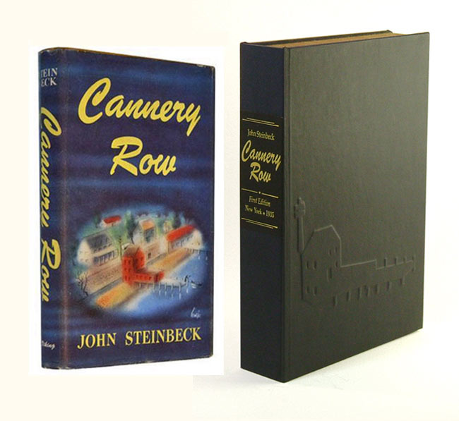 CANNERY ROW. Custom Collector's 'Sculpted' Clamshell Case. John Steinbeck