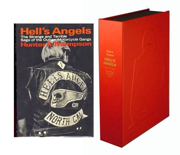HELL'S ANGELS Custom Collector's 'Sculpted' Clamshell Case. Hunter S. Thompson