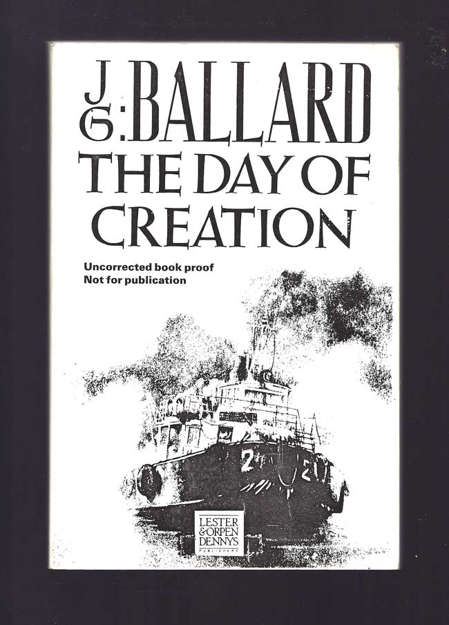 THE DAY OF CREATION. J. G. Ballard