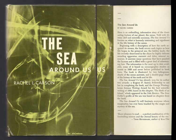 THE SEA AROUND US. Rachel L. Carson.
