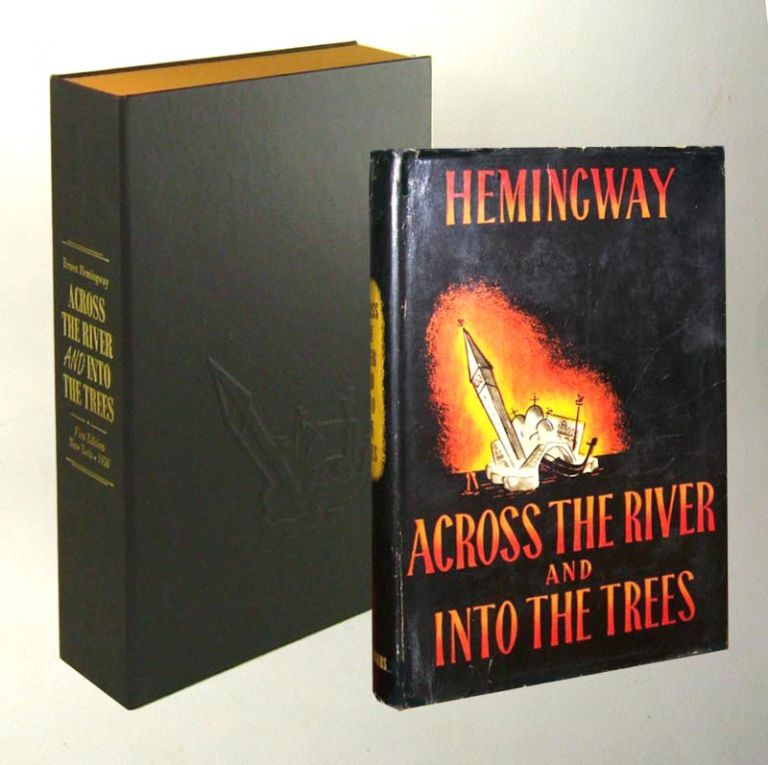 ACROSS THE RIVER AND INTO THE TREES. Custom Collector's 'Sculpted' Clamshell Case. Ernest Hemingway.