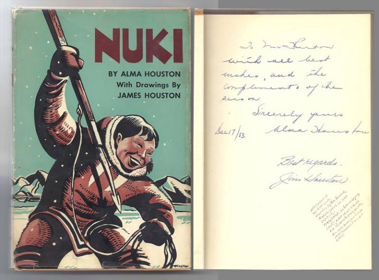 NUKI. Signed. Alma. Houston Houston, James