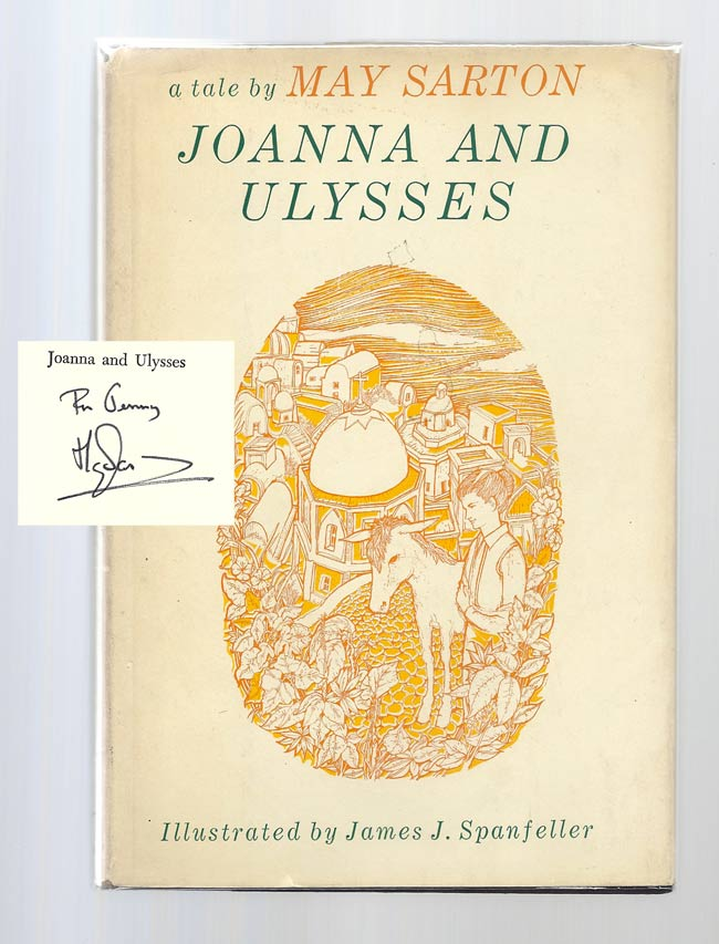 JOANNA AND ULYSSES. Signed. May Sarton