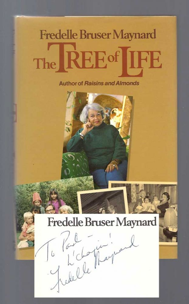 THE TREE OF LIFE. Inscribed. Fredelle Bruser Maynard