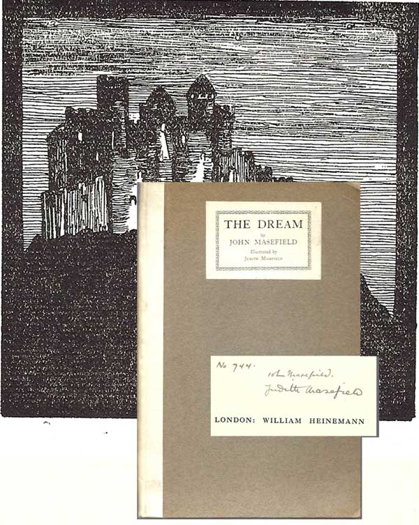THE DREAM. Signed. John Masefield