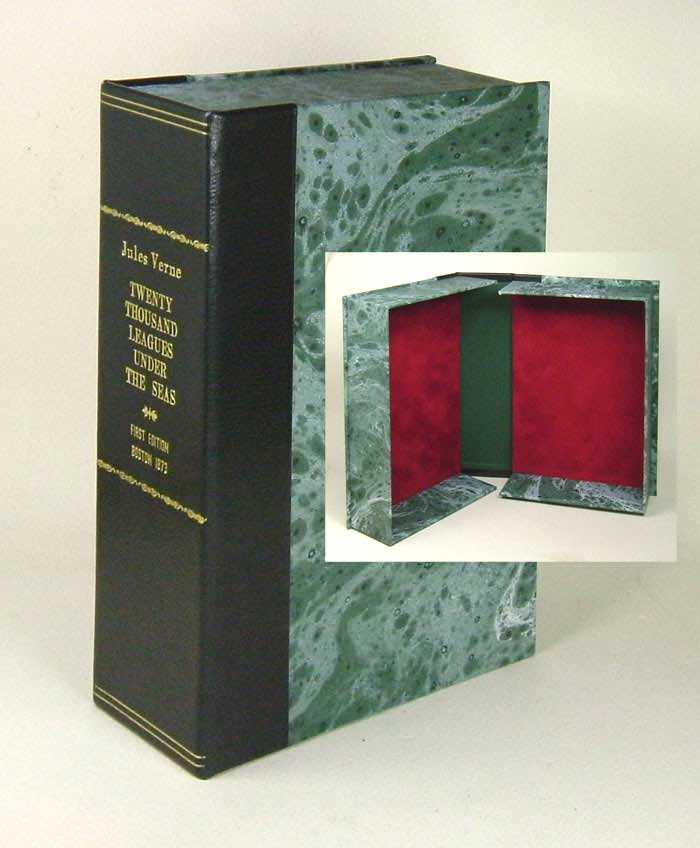 TWENTY THOUSAND LEAGUES UNDER THE SEA Custom Clamshell Case. Jules Verne