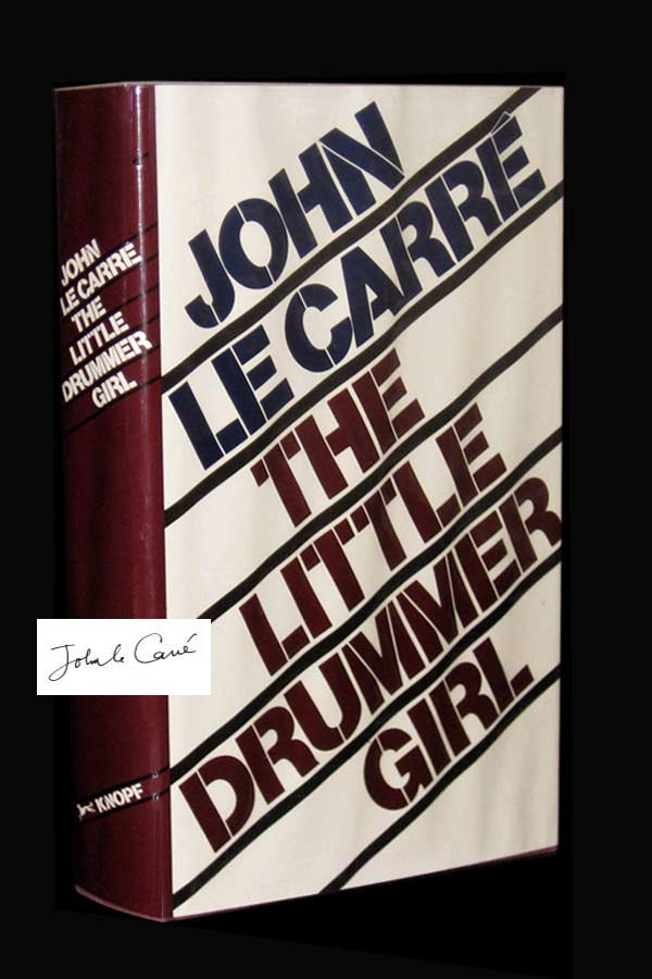 THE LITTLE DRUMMER GIRL. Signed. John Le Carré, Pseud. David John Moore Cornwell
