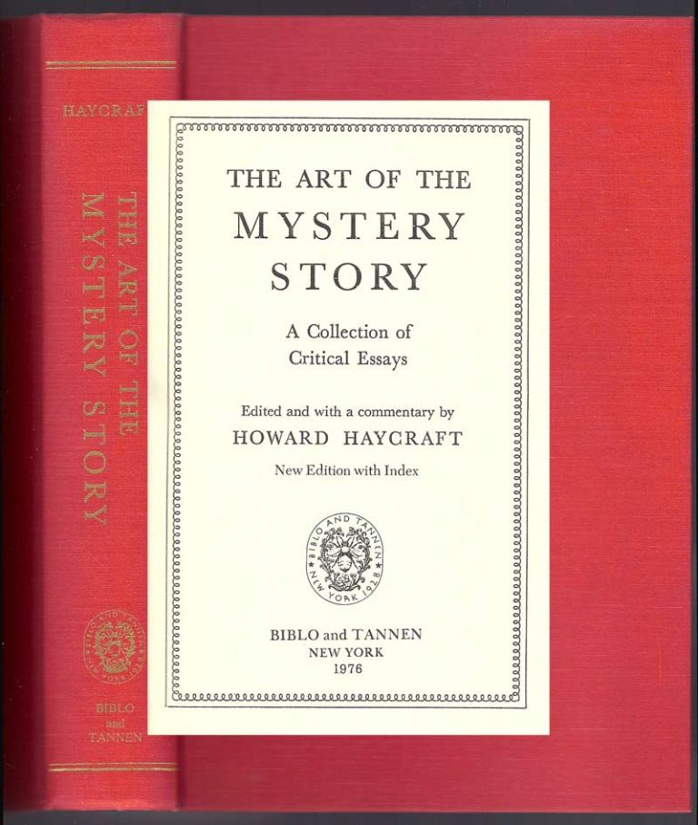 THE ART OF THE MYSTERY STORY. Howard Haycraft