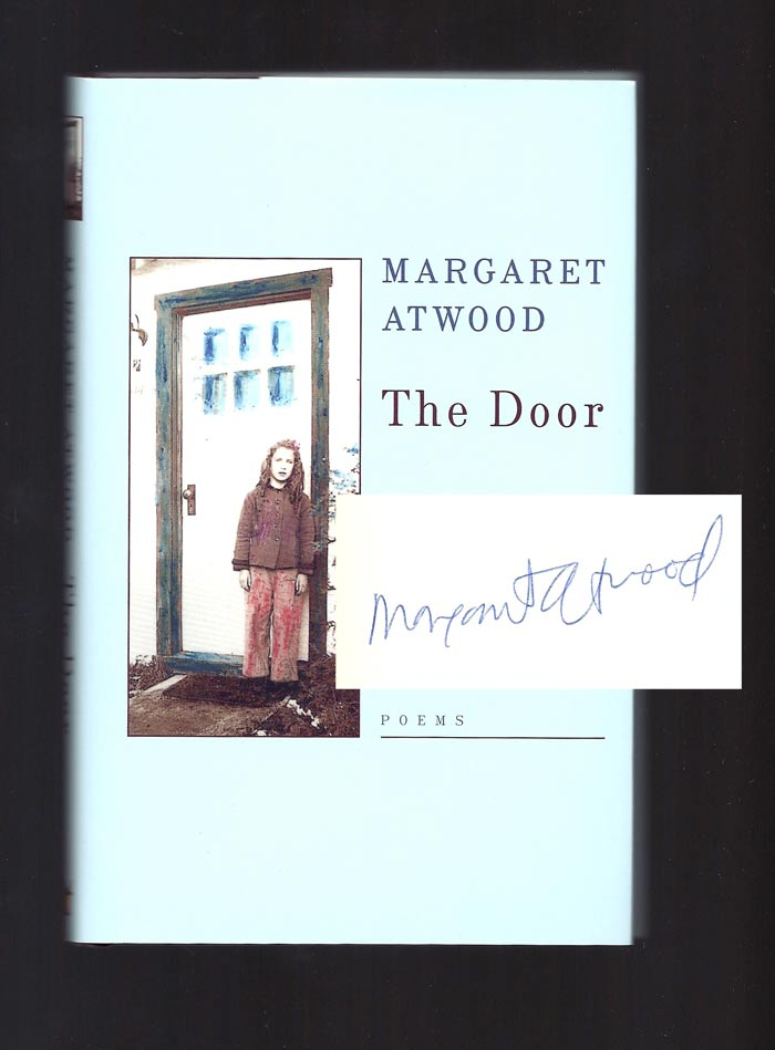 THE DOOR. Signed. Margaret Atwood.