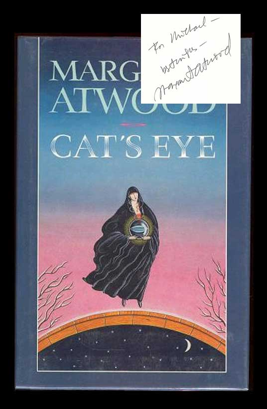 Cats Eye Signed Margaret Atwood 1st Edition