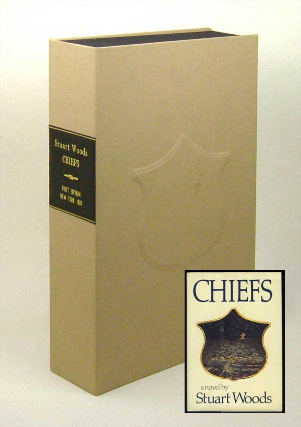 CHIEFS. Custom Clamshell Case Only. Stuart Woods