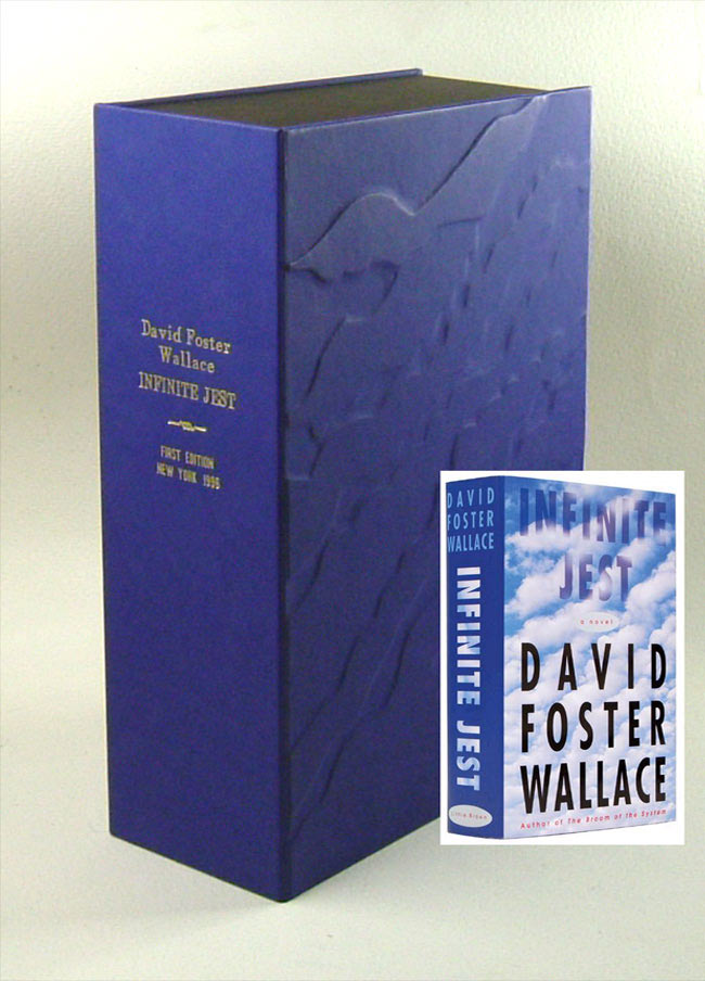 INFINITE JEST. Custom Clamshell Case Only. David Foster Wallace