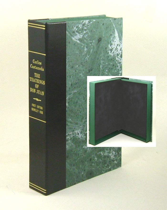THE TEACHINGS OF DON JUAN. A Yaqui Way of Knowledge. Custom Clamshell Case Only. Carlos Castaneda