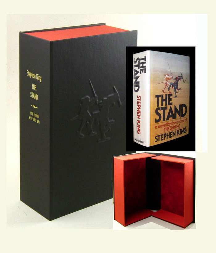 THE STAND. Custom Clamshell Case Only. Stephen King