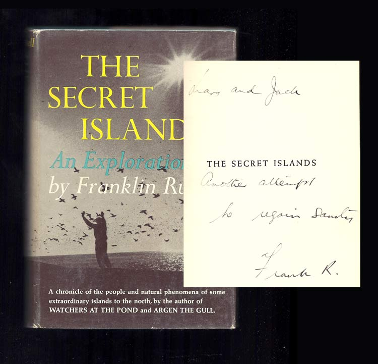 THE SECRET ISLANDS. Inscribed. Franklin Russell