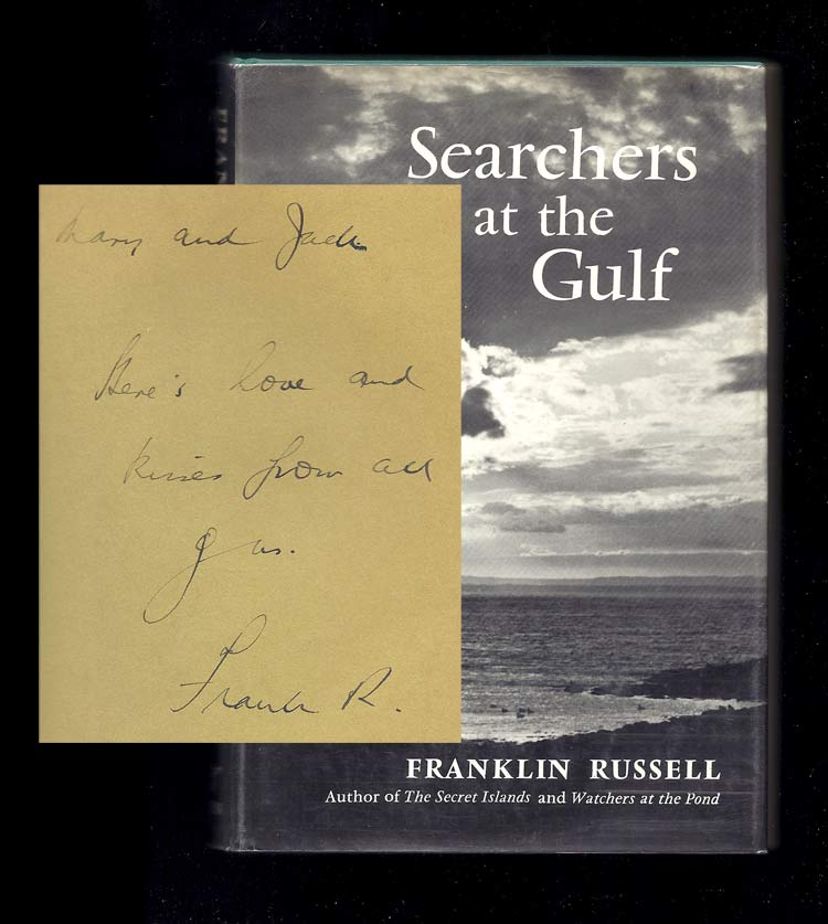 SEARCHER AT THE GULF. Inscribed. Franklin Russell