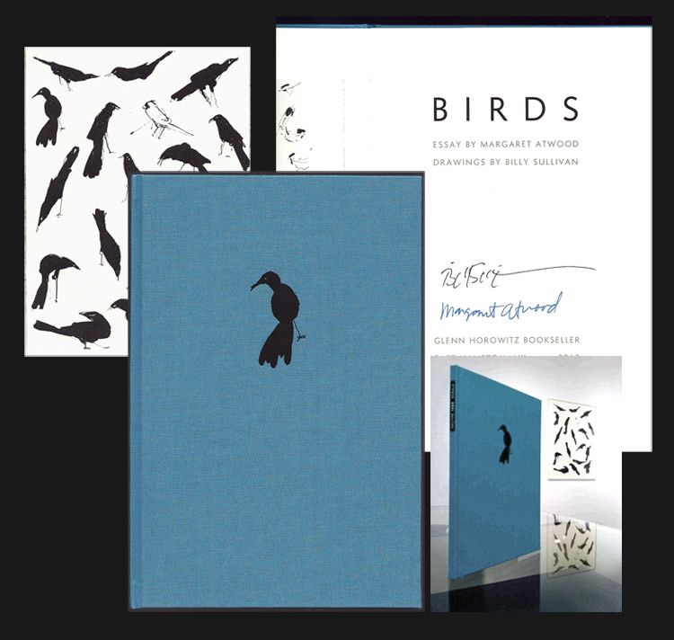 BIRDS. Signed Limited Edition. Billy Sullivan Margaret Atwood