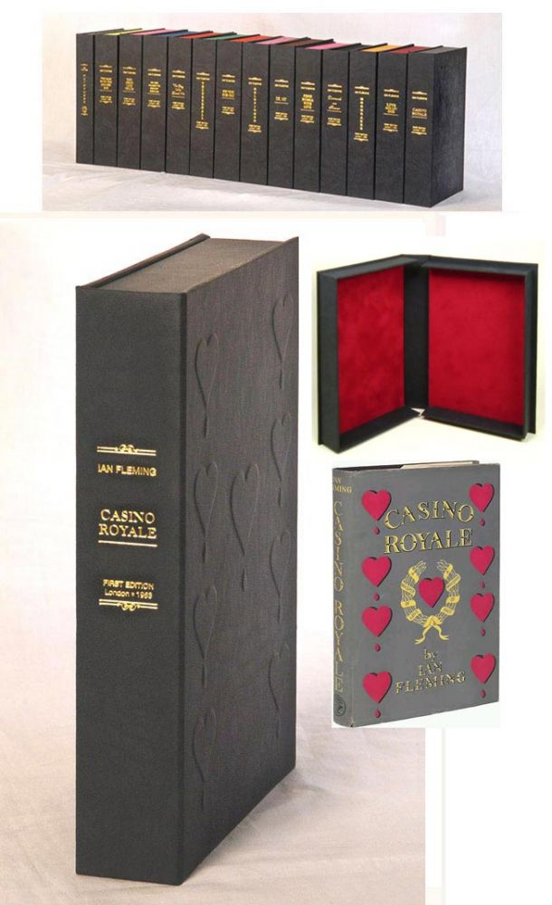 CASINO ROYALE. Custom Clamshell Case Only. Ian Fleming.