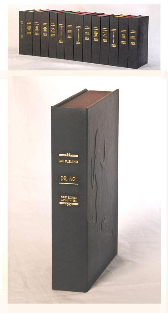 DR NO. Custom Clamshell Case Only. Ian Fleming.