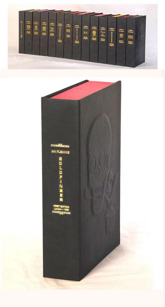 GOLDFINGER. Custom Clamshell Case Only. Ian Fleming.