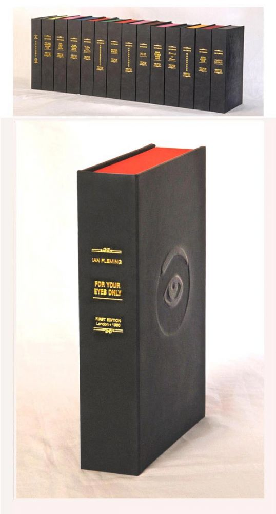 FOR YOUR EYES ONLY. Custom Clamshell Case Only. Ian Fleming.