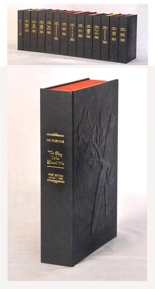 THE SPY WHO LOVED ME. Custom Clamshell Case Only. Ian Fleming.