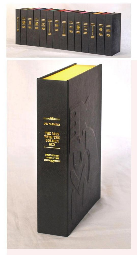 THE MAN WITH THE GOLDEN GUN. Custom Clamshell Case Only. Ian Fleming.