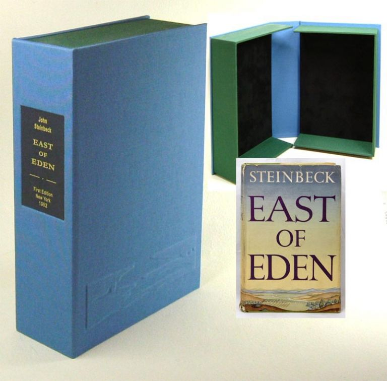 EAST OF EDEN. Custom Clamshell Case Only. John Steinbeck