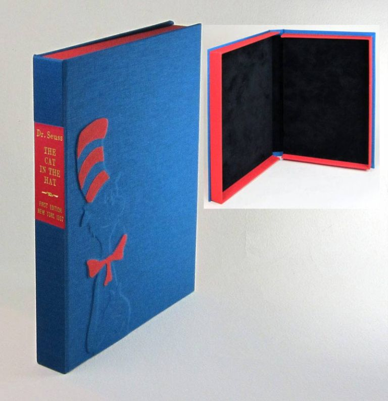 THE CAT IN THE HAT. [Custom Clamshell case only - Not a book]. Suess Dr.
