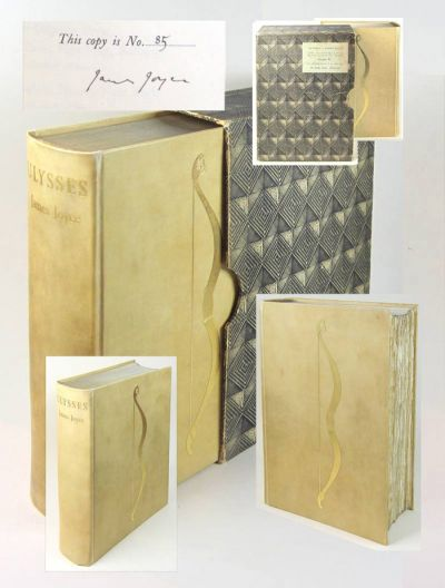 ULYSSES. Signed 1/100 Copies. James Joyce.