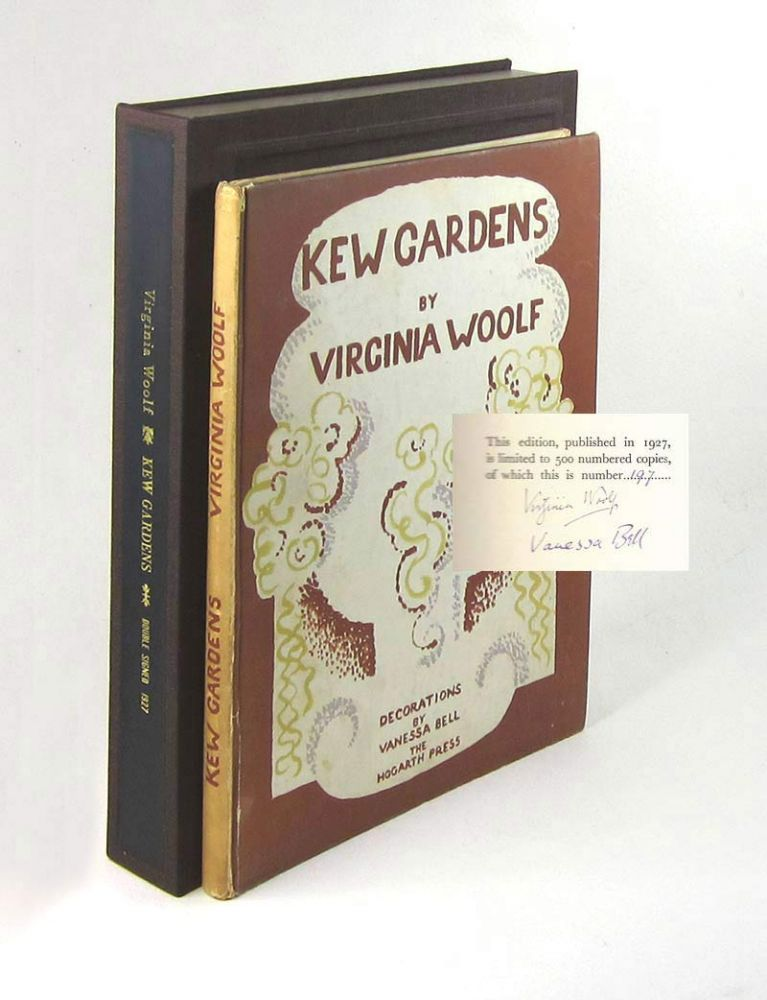 KEW GARDENS. Virginia Woolf, Hogarth Press. Vanessa Bell.