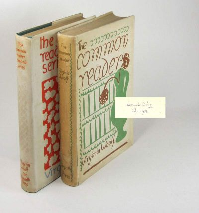THE COMMON READER. [FIRST AND SECOND SERIES] Leonard Woolf's copies. Virginia Woolf.