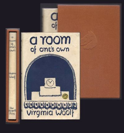 A ROOM OF ONE'S OWN. Virginia Woolf.