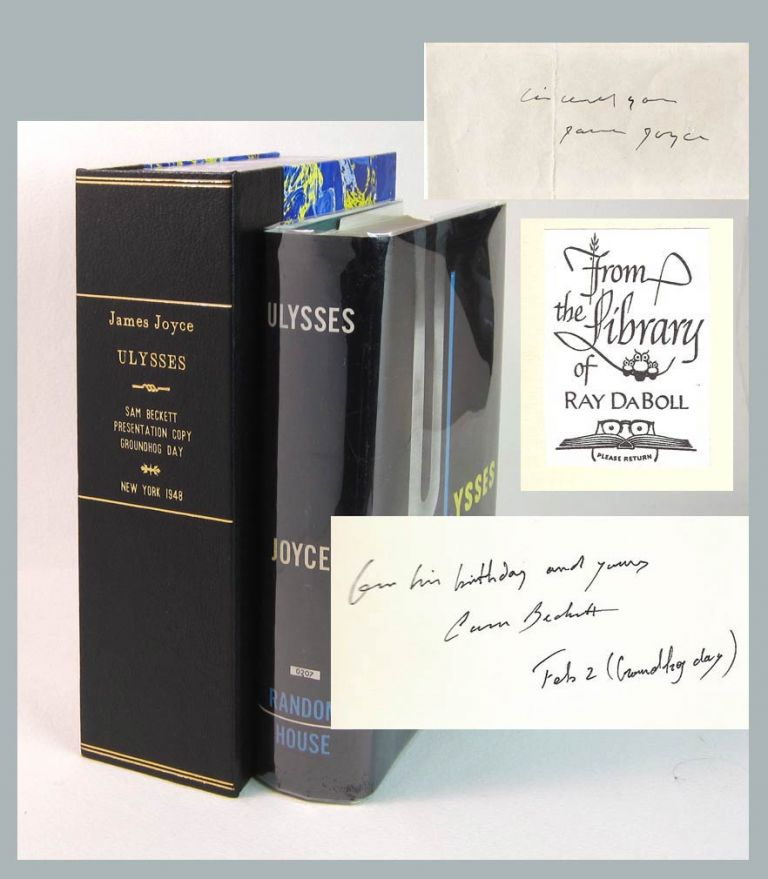 ULYSSES.Signed. James Joyce