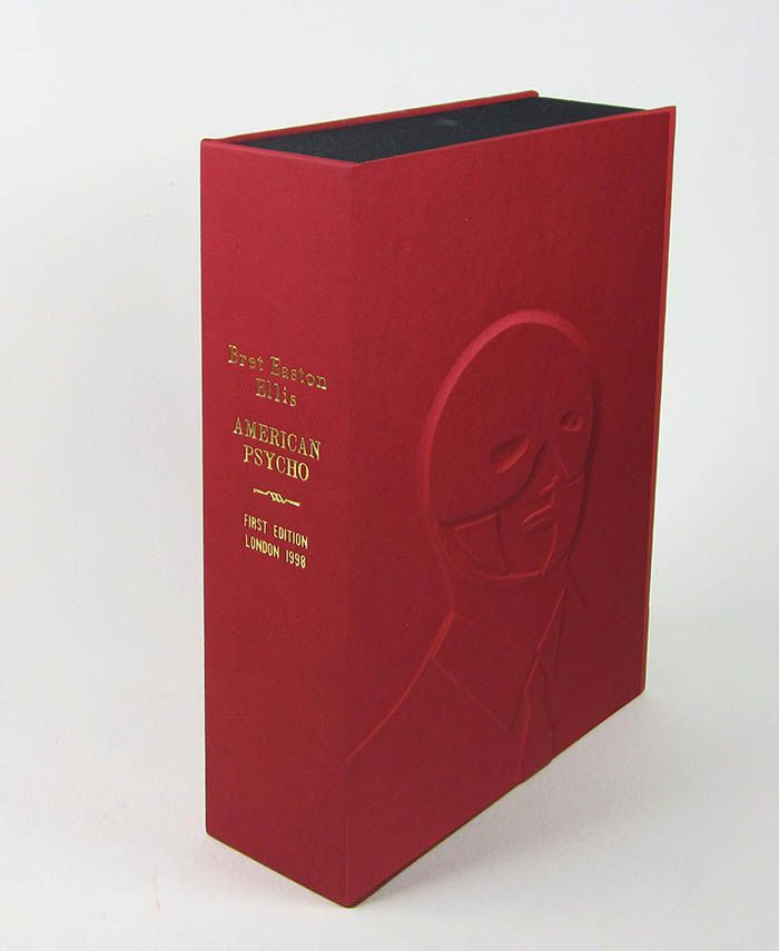 AMERICAN PSYCHO. [Collector's Custom Clamshell case only - Not a book]. Bret Easton Ellis.