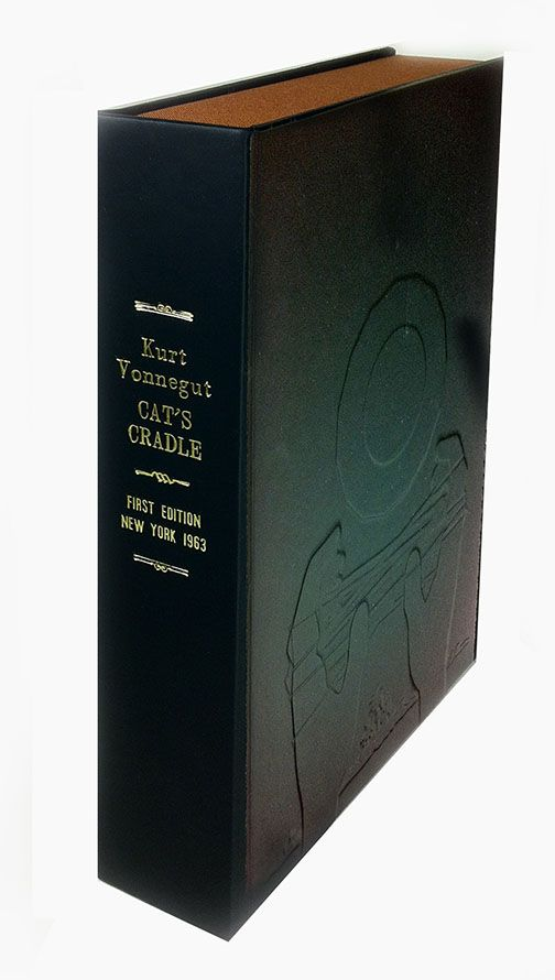 CAT'S CRADLE [Collector's Custom Clamshell case only - Not a book]. Kurt Vonnegut